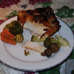 Christmas Chicken Sliced London Broil Style